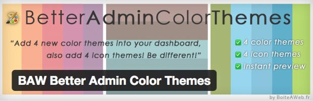 BAW Better Admin Color Theme
