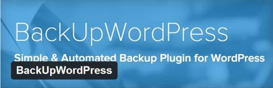 BackUpWordPress plugin de sauvegarde