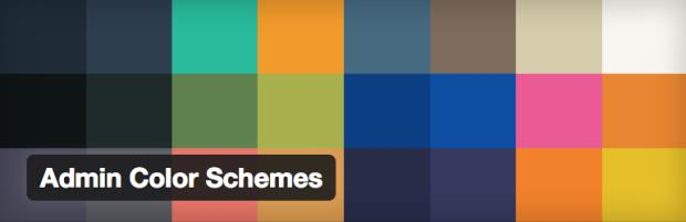 Admin Color Schemes