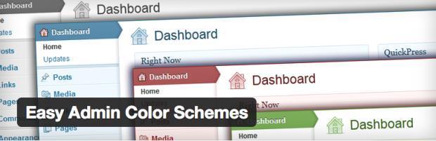 Easy Admin Color Scheme