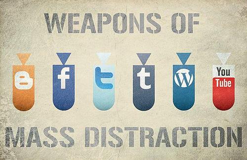 distraction pendant écriture article