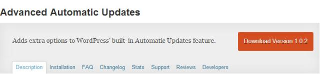 Advanced automatic update