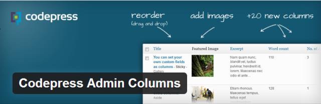 CodePress Admin Columns