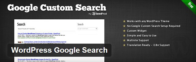 WordPress Google Search