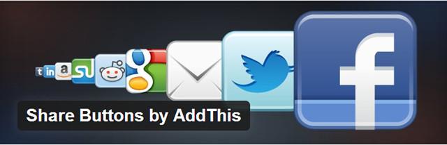 AddThis - Plugin pour les réseaux sociaux