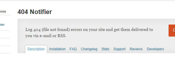 404 Notifier