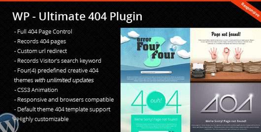 WordPress Ultimate 404 Plugin
