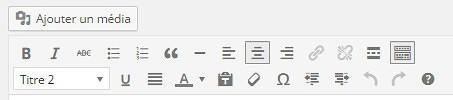 Editeur Visuel WordPress 4.0