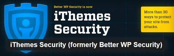 iThemes Security - plugin de sécurité pour WordPress
