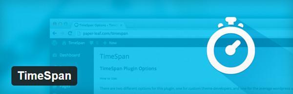 TimeSpan bannière