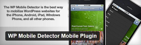 WP Mobile Detector Mobile Plugin