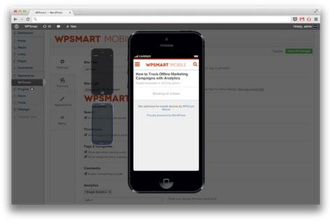 WP Smart Mobile Theme Plugin