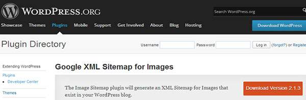 Google XML Sitemap for images
