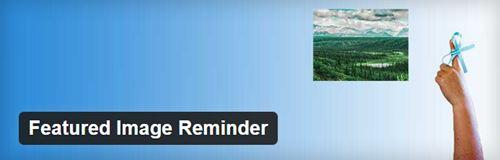 Featured Image Reminder pour ne pas oublier l'image à la une