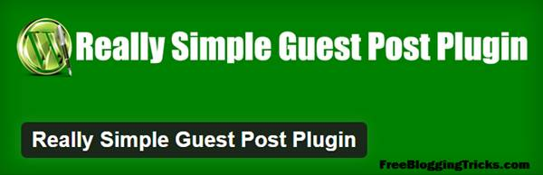Gesut Blogging - Really simple guest post plugin