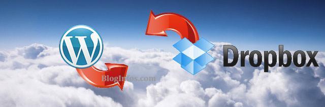 Sauvegarder WordPress sur DropBox