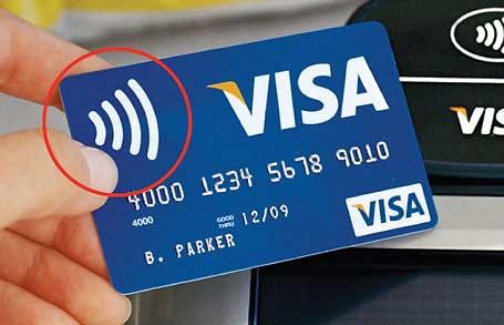 Carte bancaire RFID