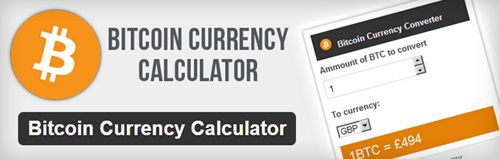Bitcoin Currency Calculator
