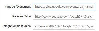 Google+Hangouts - Code à insérer dans WordPress
