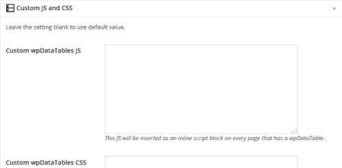 Vous pouvez utiliser votre propre code JavaScript et CSS