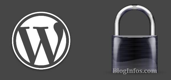 La sécurité de votre blog ne dépend que de vous
