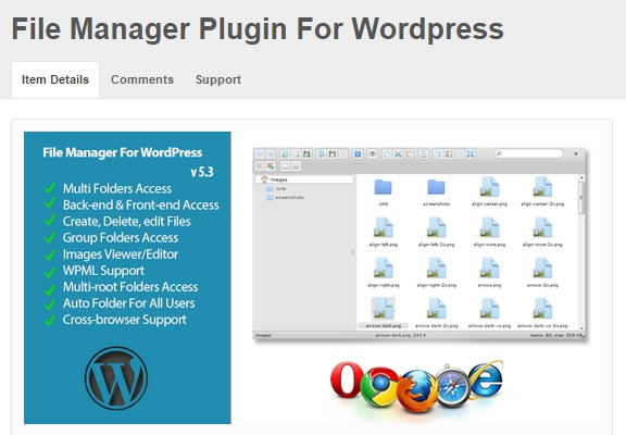 File-Manager-Plugin-For-Wordpress