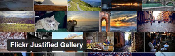 Flickr-Justified-Gallery