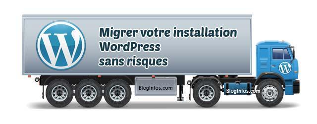 migrer votre installation WordPress