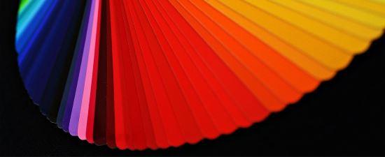Palette de couleurs illimitée