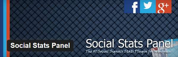 Social Stats Panel