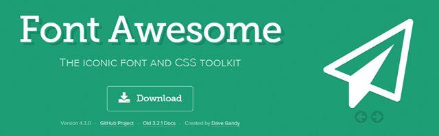 Ajouter Font Awesome à WordPress