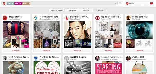 Pinterest : Top-2015