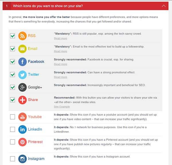 Ultimate Social Media Icons PLUS