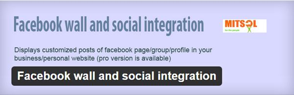 Facebook Wall and Social Integration