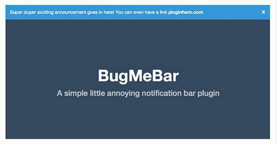 BugMeBar
