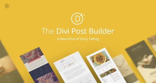 Divi Post Builder