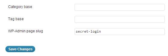 HC Custom WP-Admin URL