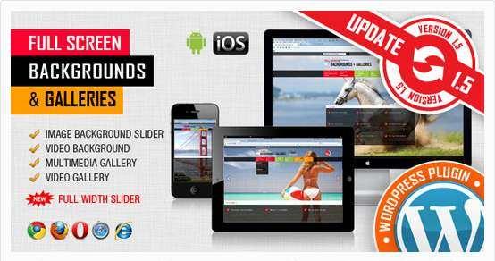 Image&Video FullScreen Background