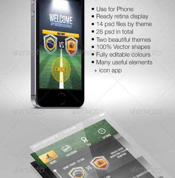 IU Mobile Sport App