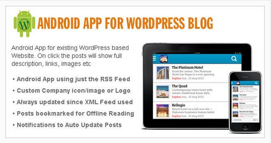 Native Android App for WordPress Site