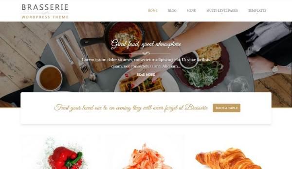 Brasserie - Les 10 meilleurs thèmes gratuits – Juillet 2015