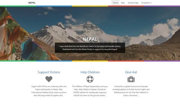 NEPAL-WordPress-Theme