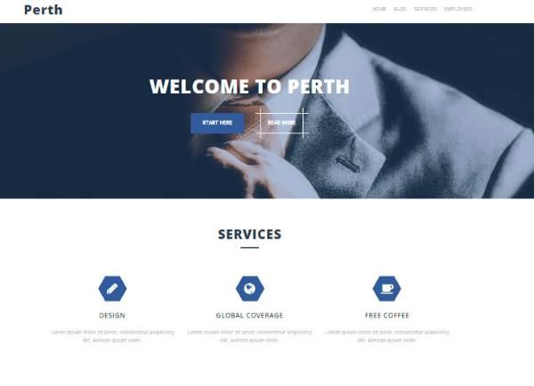 Perth - Les 10 meilleurs thèmes gratuits – Juillet 2015