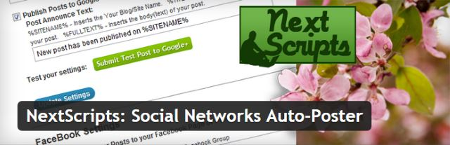 Social Networks Auto Poster