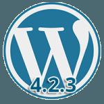 WordPress 4.2.3 - Mise à jour de sécurité critique