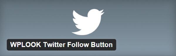 WPLOOK Twitter Follow Button