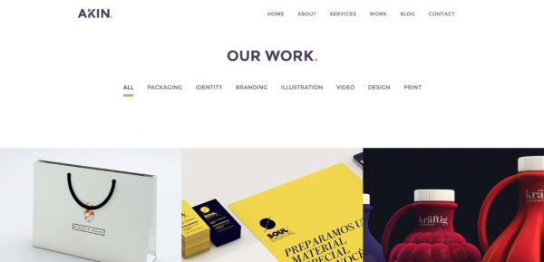 Akin Theme WordPress
