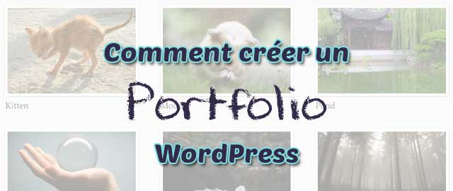 Comment créer un portfolio avec WordPress