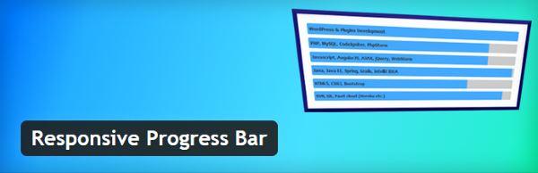 Barre de progression - Responsive Progress Bar