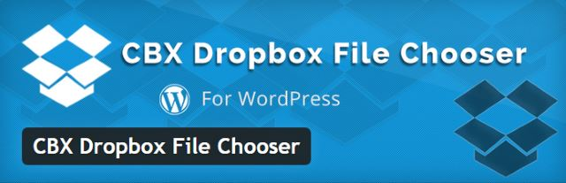 CBX Dropbox File Chooser